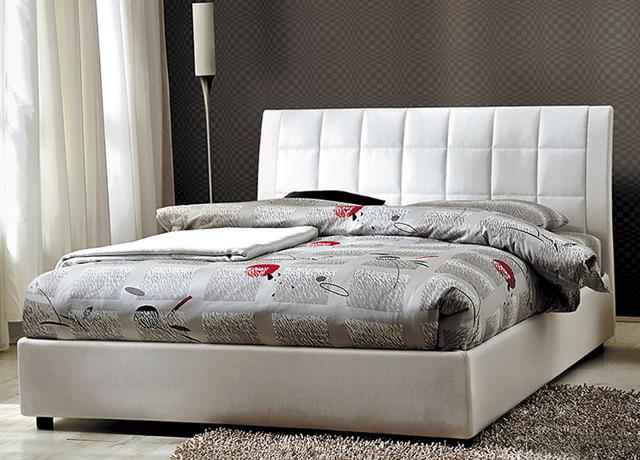 Модель White Home. Кровать с подъемным механизмом. Купить в Алматы. Под заказ.