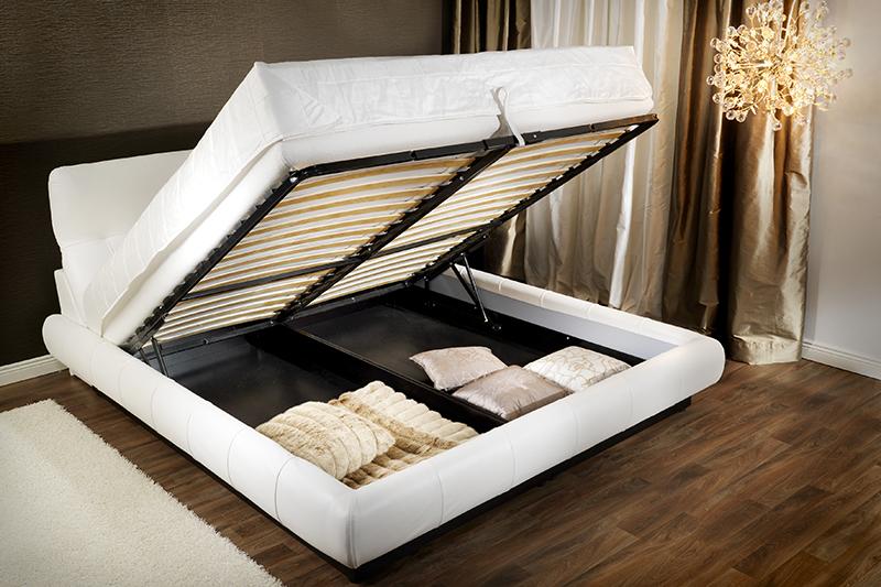 Модель Up Mechanic. Кровать с подъемным механизмом. Купить в Алматы. Под заказ.
