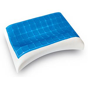 Модель С-образная. AquaJel - с охлаждающим эффектом. Ортопедическая подушка Memory Foum. Купить в Алматы..